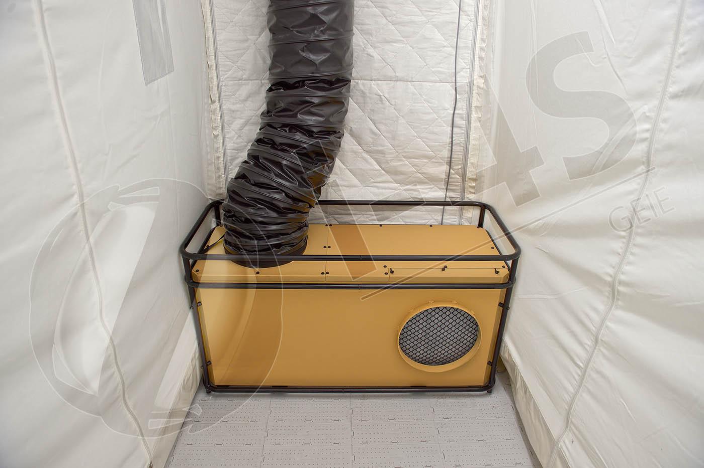 syst mes de climatisation et chauffage de tente i 4s innovation for shelter tente. Black Bedroom Furniture Sets. Home Design Ideas